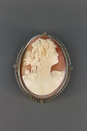 Cameo Brooch Or Pendant,