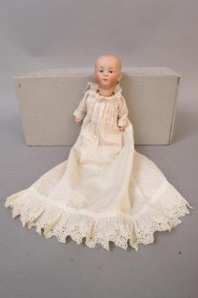 Heubach Gebruder Bisque Head Doll,