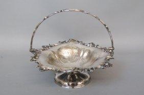Victorian Silverplate Basket,