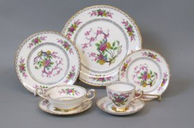 "54 Pcs. Tuscan ""ki-ming"" China Service,"