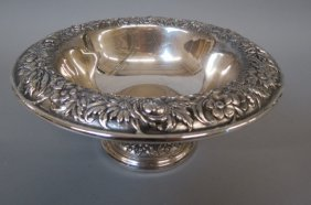 S. Kirk & Son Repousse Sterling Silver Bowl,