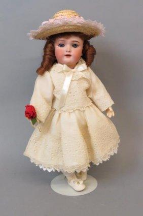 Heinrich Handwerck Halbig Bisque Head Doll,