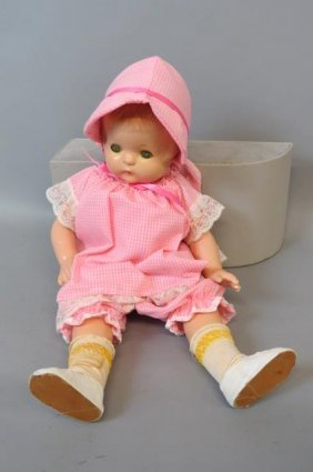 "Effanbee ""patsy Ann"" Composition Doll,"