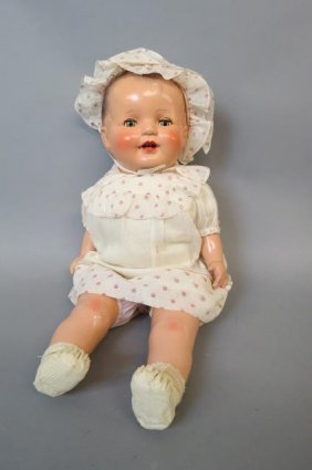 "Regal Doll Company Composition Doll ""kiddie Pal Dolly"","