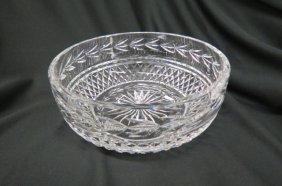 Waterford Crystal Large Bowl,