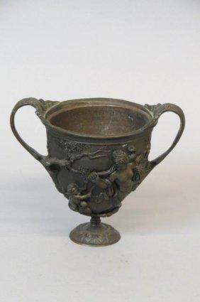 19th Century Bronze Vase,