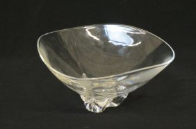 Steuben Crystal Centerpiece Bowl,