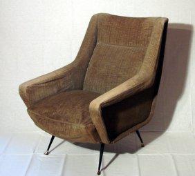 Armchair Italian Manufacture, 1950 Ca.�����������������