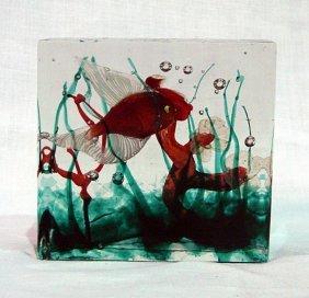 Aquarium Gino Cenedese, Cenedese Murano, 1955 Ca.