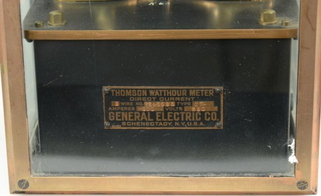 THOMSON WATTHOUR METER, General Electric Co., Schanetad