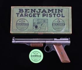 Benjamin Franklin Model 132 .22 Caliber Air Pistol
