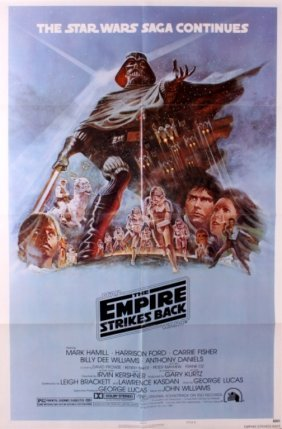Original Star Wars Empire Strikes Back Poster