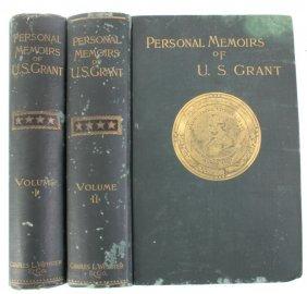 Personal Memoirs Of U. S. Grant Autograph 1885