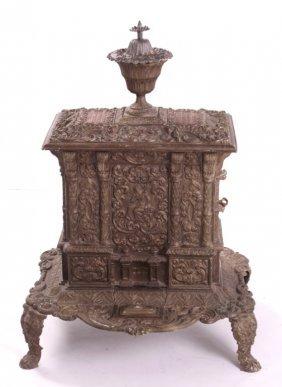 Airtight No. 1 Cast Iron Parlor Stove C. 1847