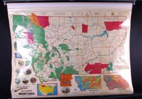 Montana Earth Science School Map