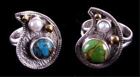 Ladies Sterling Silver Rings