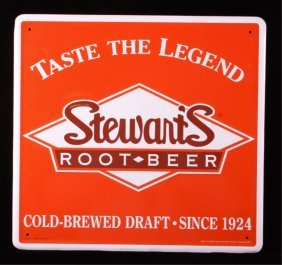 Stewart's Root Beer Sign