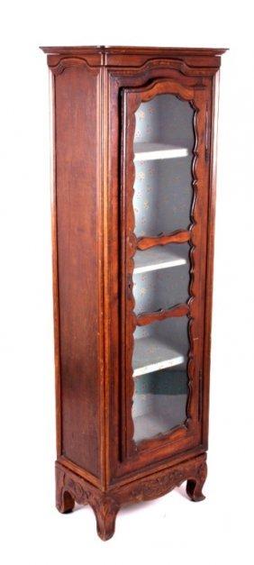 Amtique Wooden Cabinet W/ Carved Base