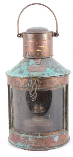 Copper Ship Lantern From The Crystal Gem