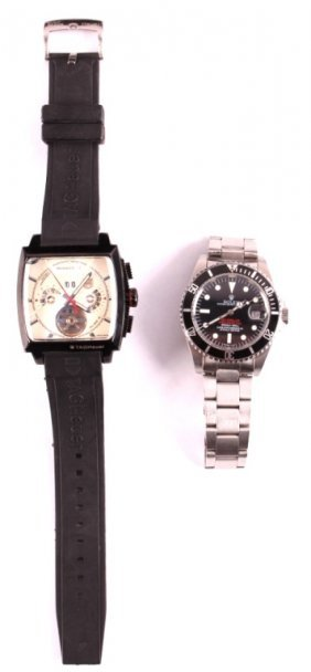 Replica Rolex Sea Dweller And Tag Heuer Watches