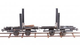 "Or&w Railroad Logging Cars 7.5"" Gauge Live Steam"