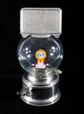Ford 1 Gum Ball Machine Countertop Advertising