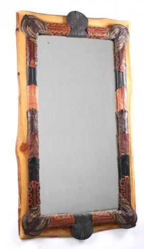 Custom Made Western Cowboy Boot Mirror