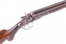 Wilkes-barre Gun Co. Sxs Shotgun Circa 1892-1895