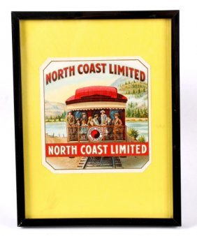 North Coast Limited Cigar Box Label