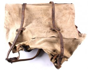 Helena Saddlery And Tent Co. Canvas Mail Bag