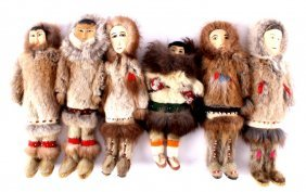 Alaskan Inuit Eskimo Doll Collection