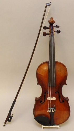 Jacobs Stainer Conservatory Violin With Glasser Bow