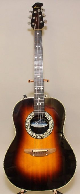 Ovation 1612 Balladeer Acoustic Guitar