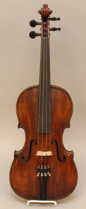 Hand Crafted Violin By Reverend Moyer, Allentown, Pa