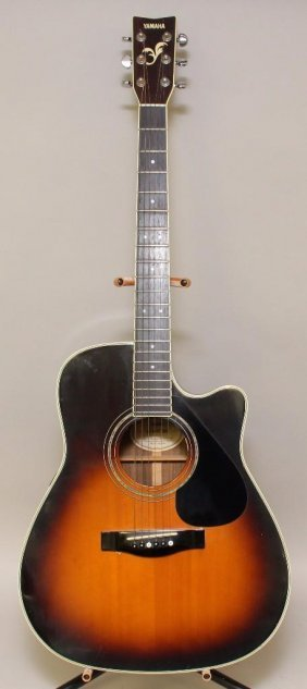 Yamaha Fg441c Tbs Acoustic/electric Guitar