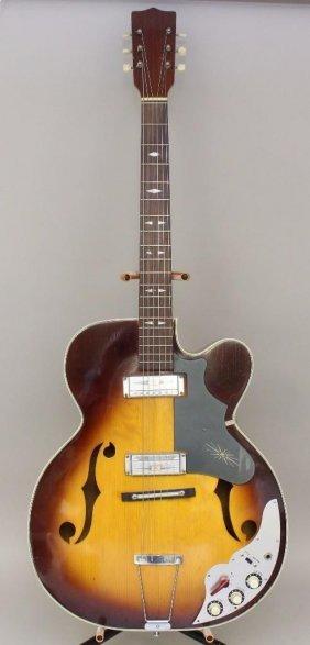 Zen-on Hollowbody Electric Guitar