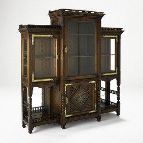 DANIEL PABST; Large Vitrine Cabinet
