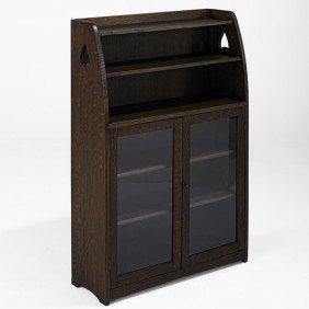 LIMBERT; Two-door Bookcase