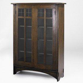 HARVEY ELLIS; GUSTAV STICKLEY; Bookcase