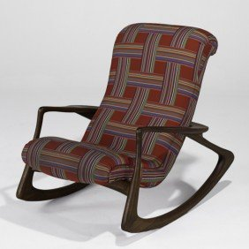 VLADIMIR KAGAN; Rocking Chair