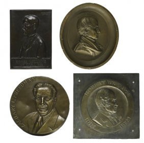 Plaques & Medallions Of Politicians/Statesmen