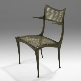 DAN JOHNSON Bronze Gazelle Chair