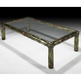 SILAS SEANDEL Bronze Coffee Table