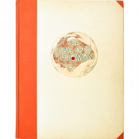 "WHARTON ESHERICK ""Song Of Solomon"" Book"