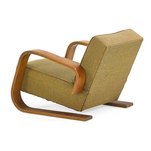 ALVAR AALTO ARTEK Tank Chair Lot 915