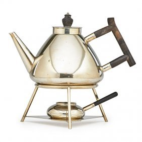 Christopher Dresser; Hukin & Heath Teapot