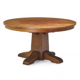 Gustav Stickley Dining Table