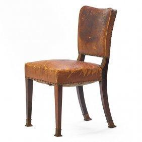 Adolf Loos; F.o. Schmidt Dining Chair