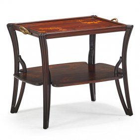 Louis Majorelle Two-tiered Table
