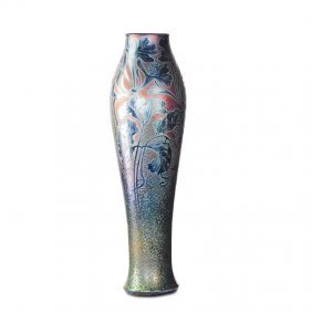Jacques Sicard; Weller Tall Vase